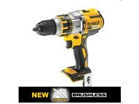 Dewalt 18V Brushless Combi Drill XR3 Speed DCD995 New unused(Bare) Body only, No Batteries / Charger