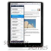 Semi-Translucent Silicone Case for Apple iPad - White