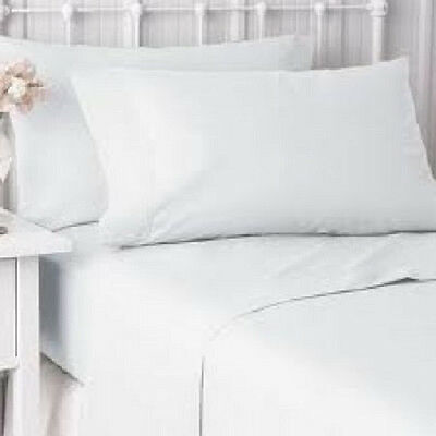 12 new bright white hotel pillow cases covers standard size