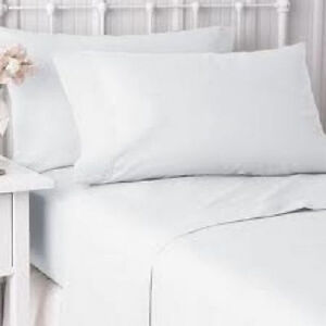 12  NEW  PILLOW CASES COVERS STANDARD BRIGHT WHITE T-180 HOTEL GOLD LABEL