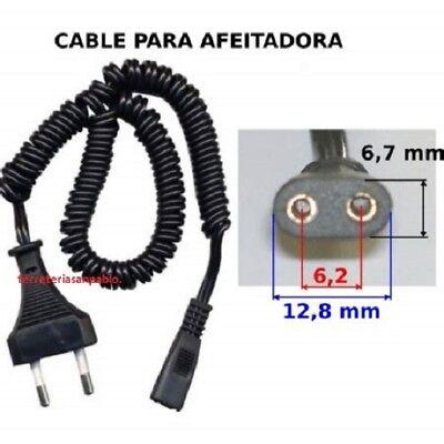 CABLE PARA AFEITADORA PHILIPS BRAUN DE MAQUINA DE AFEITAR A 220V DIRECTO df8a9563123e