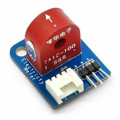 Analog Current Meter DC 0~5A Ammeter Sensor Board for Arduino UNO PIC AVR MCU DS