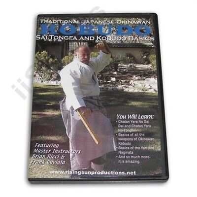 Okinawan Karate Weapon Kobudo Sai Tongfa tonfa Basics DVD Gaviola & Ricci #2 NEW