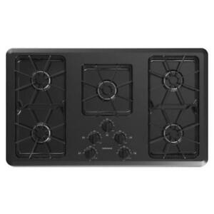 Amana® Gas Cooktop With Front Controls 36-Inch Wide AGC6356KFB (MP_96)