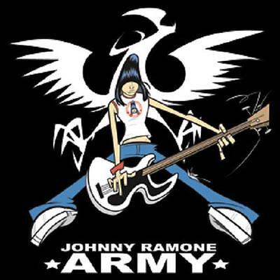 The Ramones Photo Quality Magnet: Johnny Ramone *ARMY*