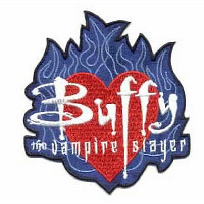Buffy  -   Blue Flame    - Patch  Aufnäher the Vampire Slayer -  neu