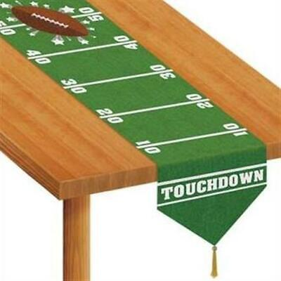 Printed Game Day Football Paper Table Runner Football Birthday Party - Runner Football