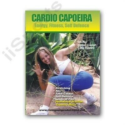 Brazilian Self Defense Cardio Capoeira Energy Fitness DVD Model Carla Ribeiro FS