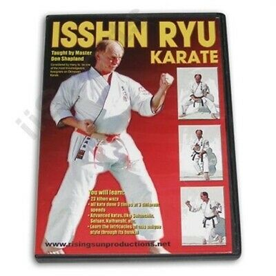 Okinawan Isshin Ryu Karate DVD Shapland 23 kihon katas wansu Tatsuo Shimabuku