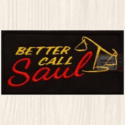 Better Call Saul Logo Patch TV Series Walter Goodman Breaking Bad
