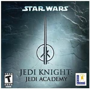 NEW PC STAR WARS JEDI ACADEMY GAME 225476885 PC SOFTWARE JEDI KNIGHT LUCAS ARTS