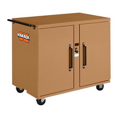 KNAACK 44 ROLLING WORKBENCH WITH 4 DRAWERS IN TAN (Steel 4 Drawer Rolling Workbench)