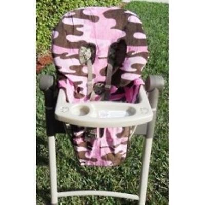 SpecialTex CS-HCSP-PI CAMO CleanSeat High Chair Cover PINK - Camo High Chair