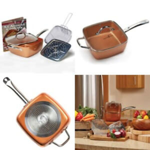 Unused and unopened Copper Chef 4-Piece Cookware Set