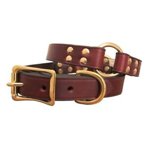 brand new leather dog collars and leashes