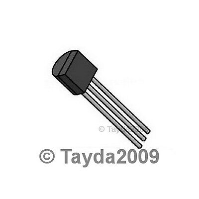 10 X Pn2907a Pn2907 2907 Pnp 60v 0.8a Transistor