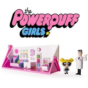 NEW THE POWERPUFF GIRLS  PLAYSET 6028022 183930220 2 IN 1 FLIP TO ACTION PLAYSET