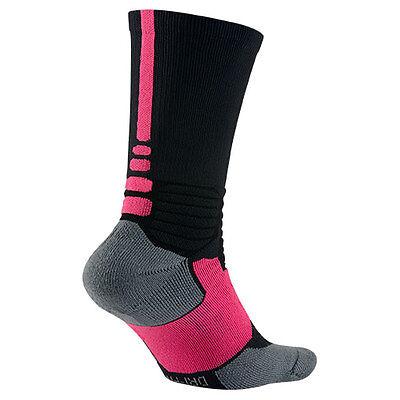 Nike Hyper Elite Kay Yow Basketball Sock Style SX4967-067 Size L (8-12) BCA