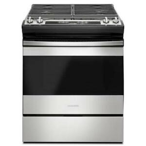 Amana Gas Range with 4 burner AGS6603SFS (AM608)