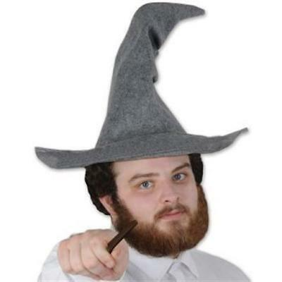 Felt Wizard Hat Medieval Halloween Costume Accessories (Medieval Costume Accessories)