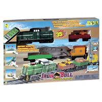 NEW: INFRA-RED REMOTE CONTROL IRON BULL WORK TRAIN