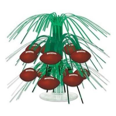 Football Mini Cascade Centerpiece Football Birthday Party Decorations - Football Center Pieces