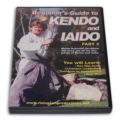 Beginner Guide Kendo Iaido #2 DVD J Wilson RS-0202S Samurai Sword Shinai Katana
