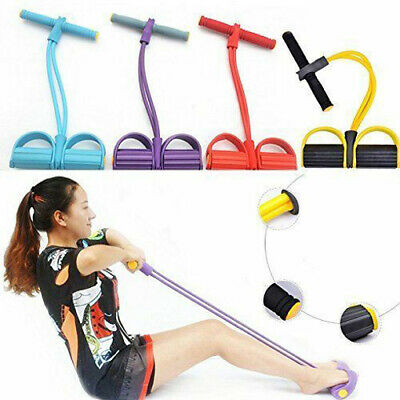 FULL BODY TRAINING RESISTANCE BANDS- BODY SHAPE HOME GYM FITNESS CHEST BICEPS