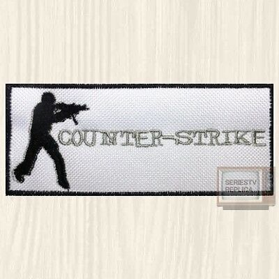 Counter Strike Word   Logo Embroidered Global Offensive Half Life Pc Game