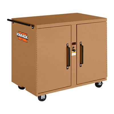 Knaack 40 Rolling Work Bench With 2 Drawers In Tan Steel