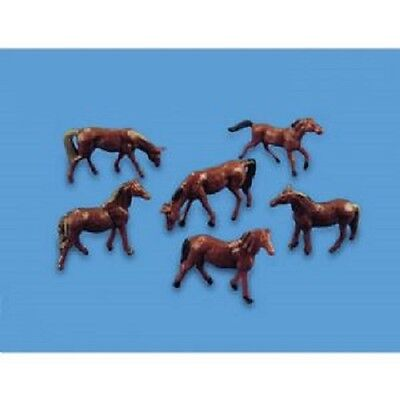 4 Horses farm scenery Model Scene 5105  OO HO British