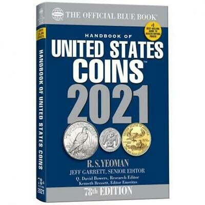 NEW Official Blue Book A Guide United States US Coins 2021 Price List Paperback