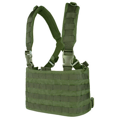 CONDOR TACTICAL OPS CHEST RIG MOLLE CARRIER SYSTEM AIRSOFT GURTBÄNDER OLIV DRAB ()