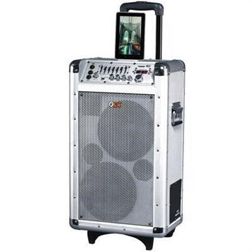 QFX Battery Powered Bluetooth PA Speaker