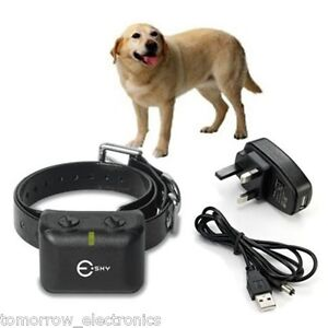 NEW Waterproof Rechargeable MEDIUM LARGE ANTI BARK NO BARKING DOG SHOCK COLLAR