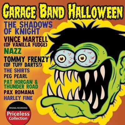 Garage Band Halloween, Volume 1 NEW CD - Halloween 1 Music