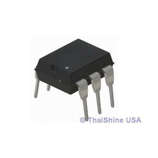 4 x MOC3023 MOC3023M 3023 Triac SCR Output Optocoupler IC USA Seller Free Ship