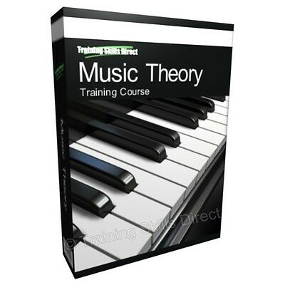 Music Theory Scales Chords Piano Training Book Course