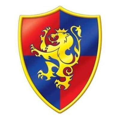 Medieval Crest Cutout Renaissance Hanging Party Wall Decoration (Medieval Crest)