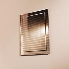Tucana 40cm X 50cm cloakroom mirror