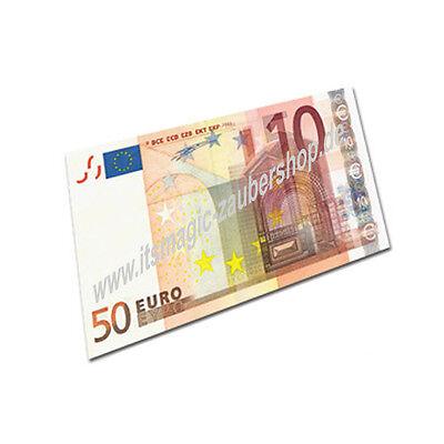 1469 Euro Bill Switch Geldscheinverwandlung Zaubertrick zaubern lernen Magic