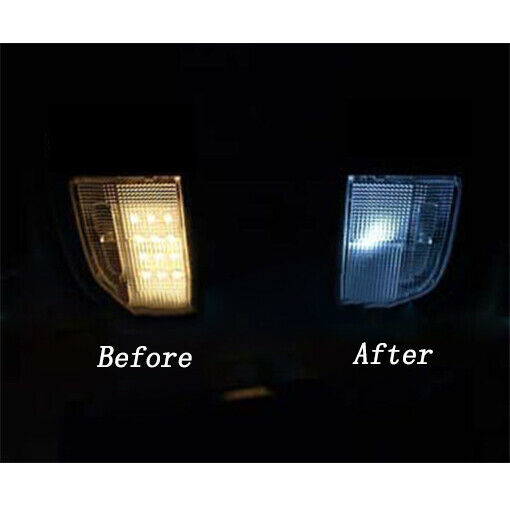 Pcs Interior Led Light Bulbs Package Kit For   Ford Excursion White