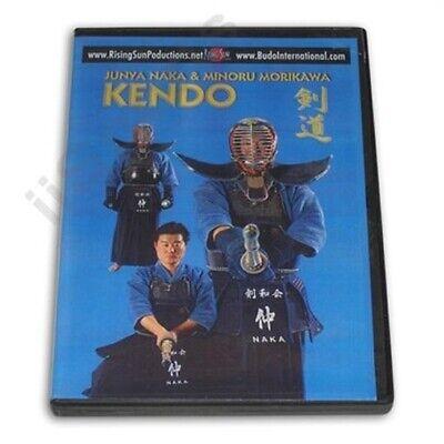 Japanese Kendo Training DVD Naka Morikawa samurai sword shinai kenjutsu blade