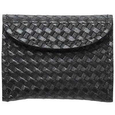 New! Safariland Surgical Glove Pouch  Closure Basket Weave Black 33-4V