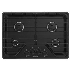 Amana® Gas Cooktop With 4 Burners 30-Inch Wide AGC6540KFB (MP-95)