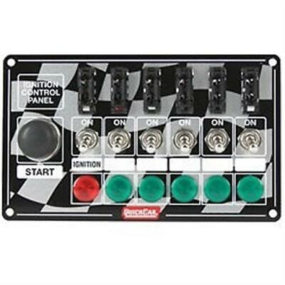 QuickCar Ignition Control Panel Starter Button, Ignition Switch, Fused switches