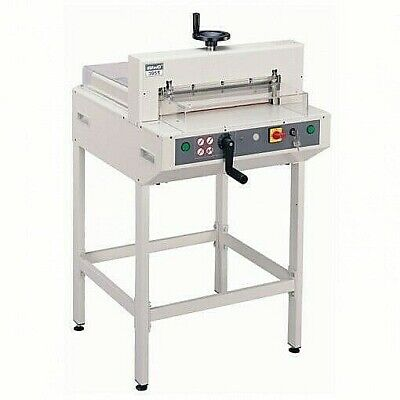 Kw-trio 3951 Electric Paper Guillotine Trimmer Cutter 450 Sheet - Brand New