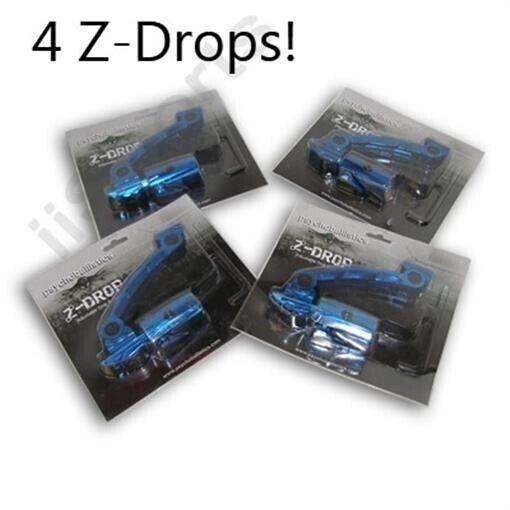 4  Psychoballistics Z Drop Forward Paintball HPA CO2 Bottomline Cradle BULK LOT
