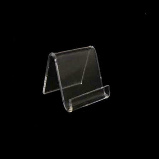 "Acrylic Mini Card Sign Holder Display Stand 1.5""/10 pcs"