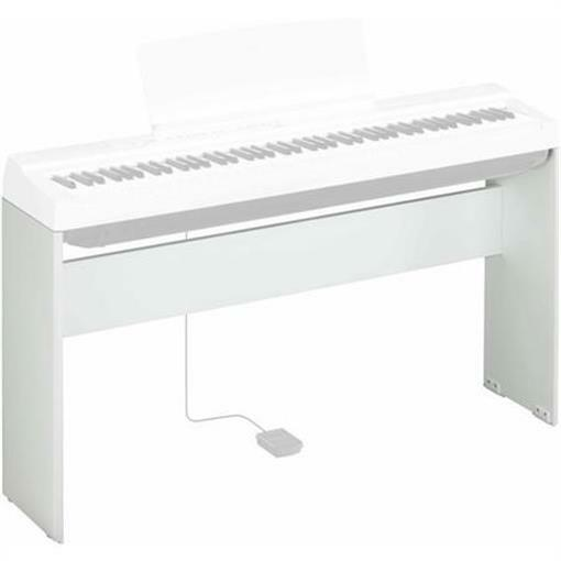 YAMAHA L-125 WH WHITE WOODEN KEYBOARD STAND FOR THE P-125 88 KEY KEYBOARD